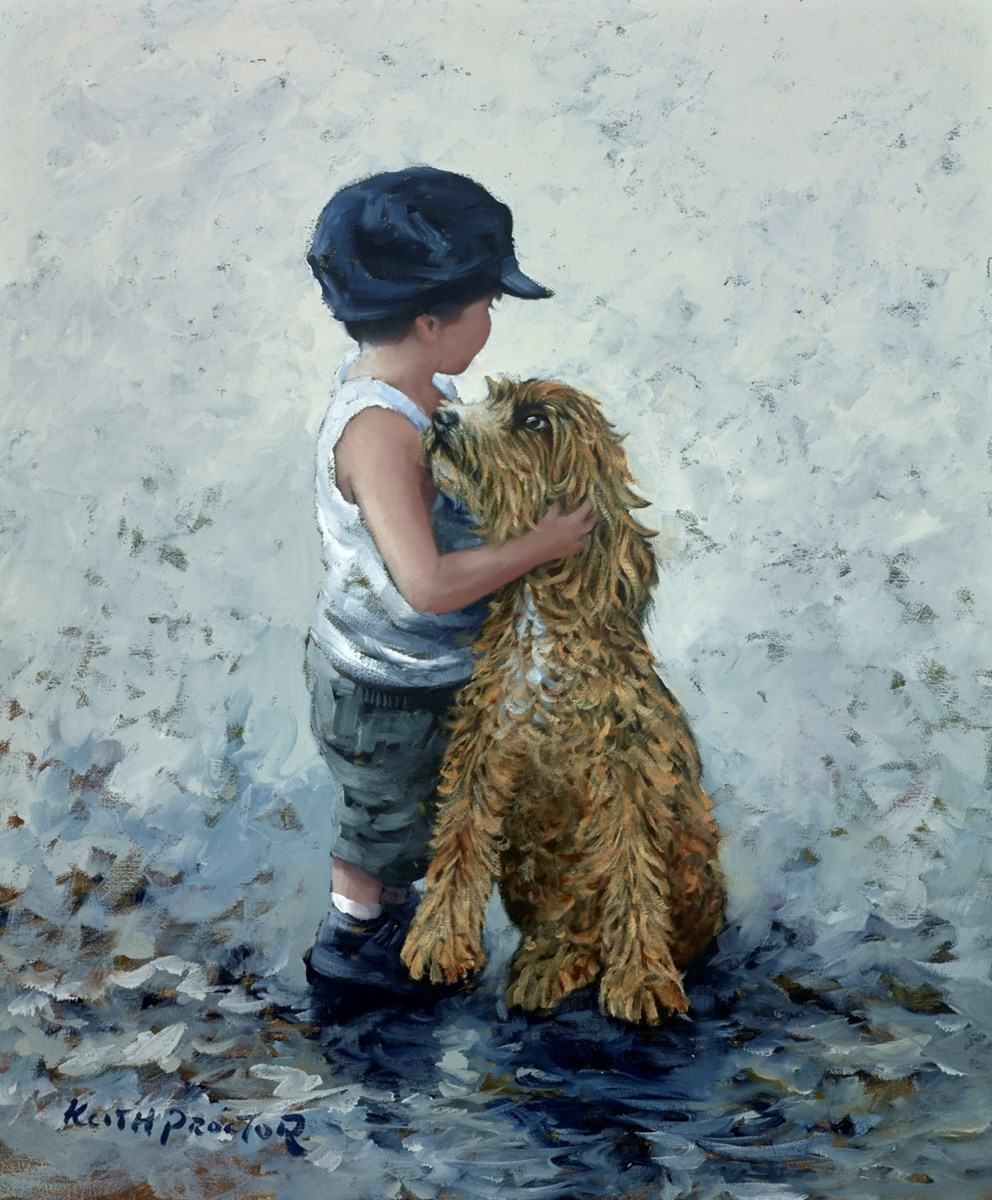 Friends Reunited II by keith proctor -  sized 20x24 inches. Available from Whitewall Galleries